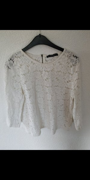 Mango Basics Sweat Shirt white