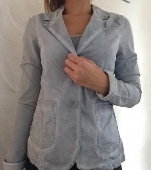 Denim Blazer pale blue