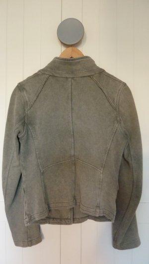 Sweatshirt Blazer in Olivgrün von Diesel