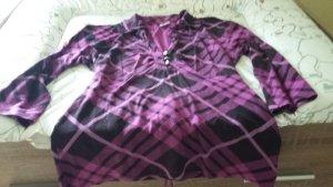 Sweatshirt Bluse mit weitem Ausschnitt gr.38/40