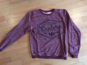 Sweatshirt bordeauxrot von Jack & Jones Größe S
