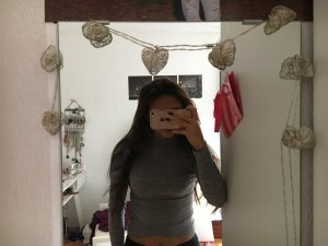 Sweatshirt cropped bershka
