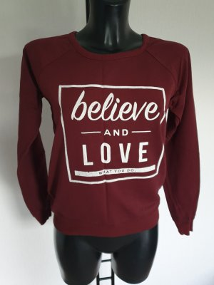 Atmosphere Sweatshirt bordeaux