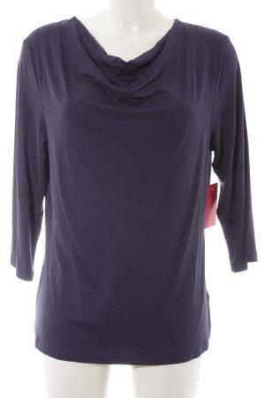 Sweatshirt dunkelblau Casual-Look
