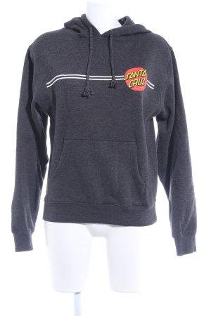 Sweatshirt dunkelgrau Casual-Look