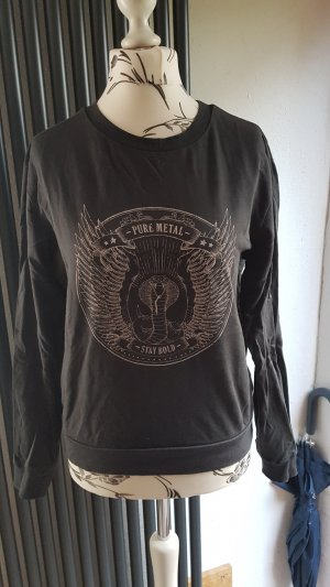 Sweatshirt Gr. M dunkelgrau H&M