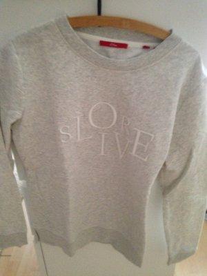 Sweatshirt grau s.Oliver