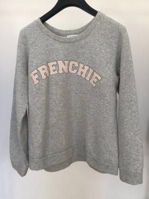 Sweatshirt Grau von Maje mit Aufschrift Frenchie