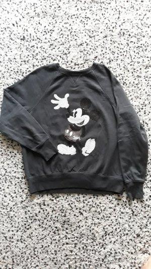 Sweatshirt H&M Logg Mickey Gr.S