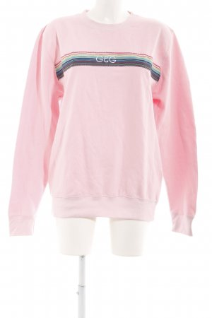Sweatshirt hellrosa Casual-Look