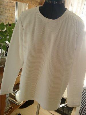 Sweatshirt hochwertig weiß von Minimum Größe L