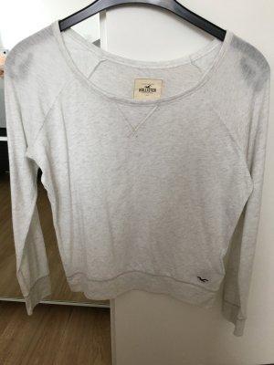 Sweatshirt Hollister Cremefarben Größe S