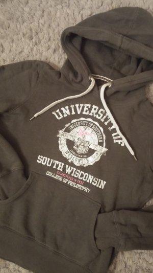 sweatshirt hoody kapuzenpulli grau