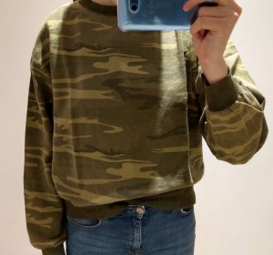 Sweatshirt im Military-Look von Urban Outfitters