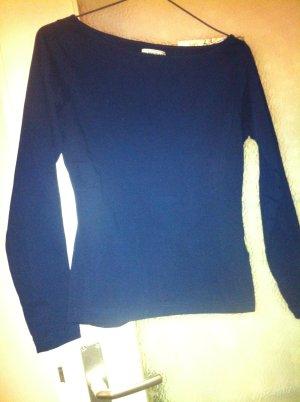 Blind Date Long Shirt dark blue cotton