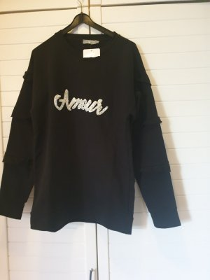 Sweatshirt in Gr 36 schwarz