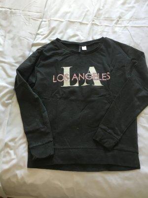 Sweatshirt in grau von h&m