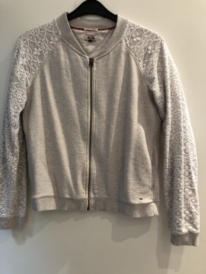 Hilfiger Denim Veste sweat blanc cassé