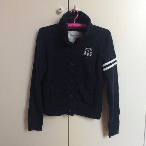 Sweatshirt Jacke College dunkelblau