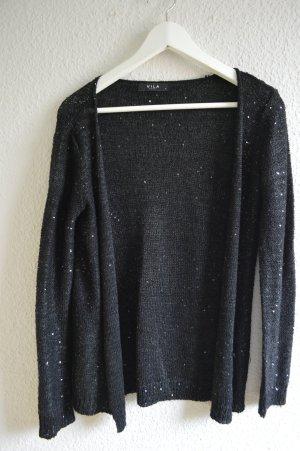 Sweatshirt Jacke I Cardigan I Pailletten