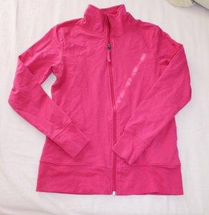 Sweatshirt Jacke in pink
