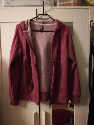 Sweatshirt Jacke in rot