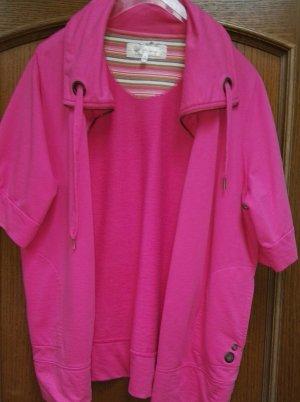 Crizpy Veste chemise rose