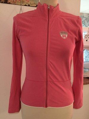 Sweatshirt Jacke kuschelweich Hoodie Esprit Gr. 36 / S Pink / Rosa
