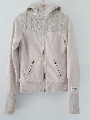 Sweatshirt Jacke mit Kapuze