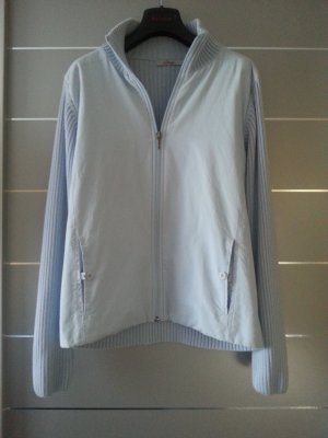 Sweatshirt- Jacke/ Pullover/ Jacke von s.Oliver, hell blau, Größe L/ 40