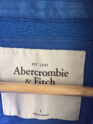 Abercrombie & Fitch Hoody blue