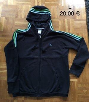 Sweatshirt Jacke von Adidas für Damen in Größe L