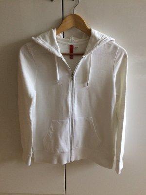 Sweatshirt Jacke * weiß * Größe 40 * von H&M