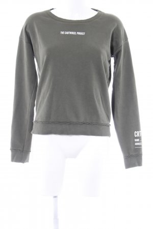 Sweatshirt khaki Casual-Look