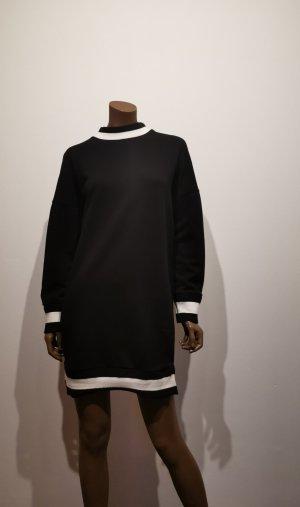 edc Abito maglione nero-bianco Cotone