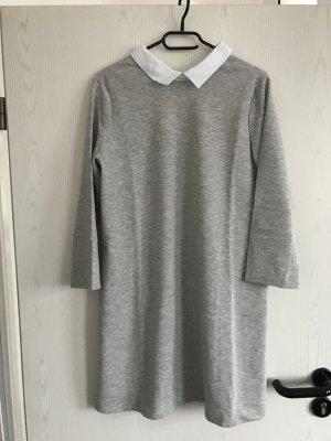 Sweatshirt Kleid Zara mit Hemdkragen