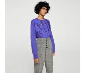 Mango Sweat Shirt purple-lilac