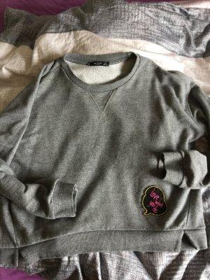 Sweatshirt Mango grau Trendy weite Form gr.s