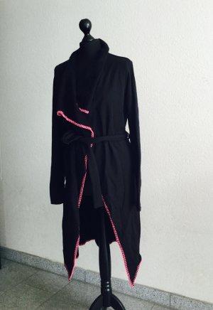Sweatshirt Mantel in schwarz mit pink von Miss Goodlife Größe S