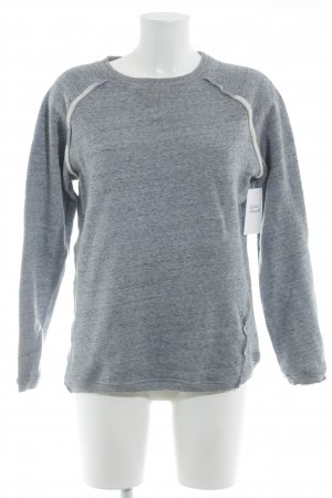 Sweatshirt meliert Casual-Look
