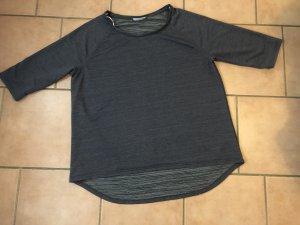 Sweat Shirt anthracite-cornflower blue