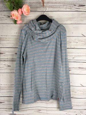 Sweatshirt mit ausgefallener Kragen Edc by esprit