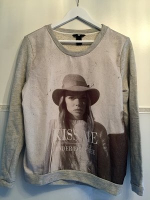 Sweatshirt mit big Print