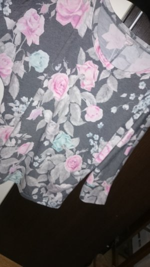 Sweatshirt mit Blumenmuster