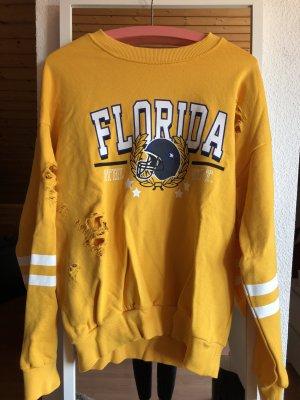 Gina Tricot Sweat Shirt multicolored cotton