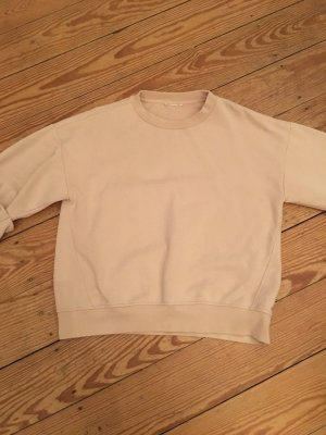 Sweatshirt mit gerafften Armen