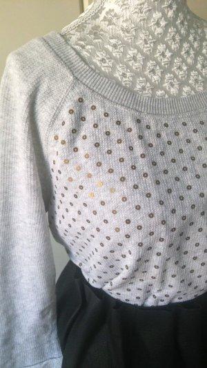 Sweatshirt mit goldenen Pailletten von H&M