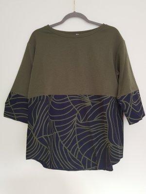 COS Shirt dark blue-olive green