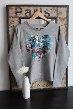 Sweatshirt mit Herz-Print - SPRINGFIELD