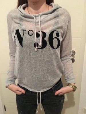 Sweatshirt mit Kaputze Grau H&M Gr. S